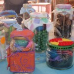 Treasure Jars- a very popular craft stall item