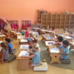 Busy days in the classrooms 2015